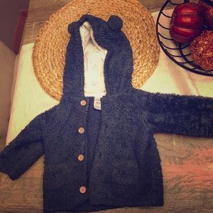 9 months teddy bear jacket
